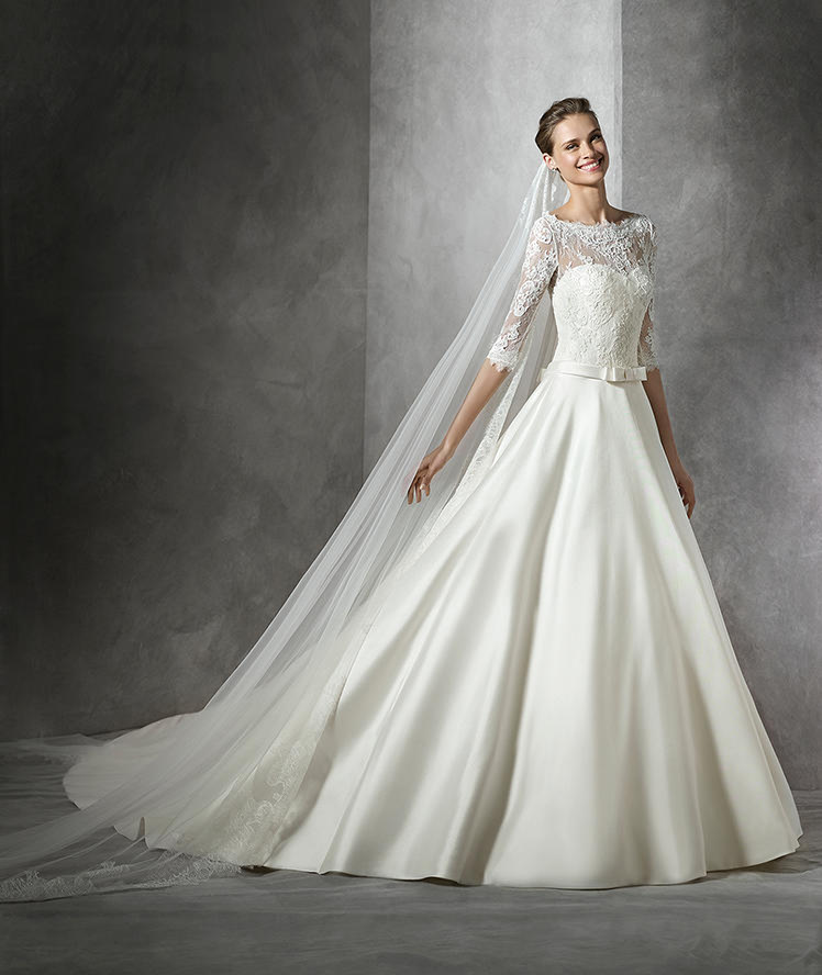 Pronovias Bridal - Bijou Bridal. Bridal stores in NJ, PA, FL, IL, and HI